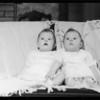 Mrs. Alnutt's twins, Southern California, 1934