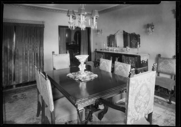 900 Keniston Avenue, Los Angeles, CA, 1928