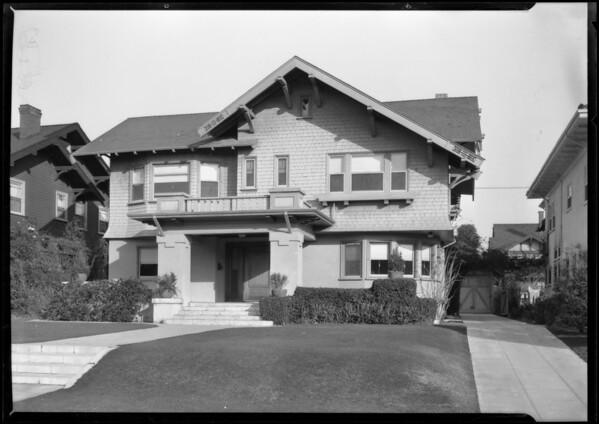 2 story home, 534 South Oxford Avenue, Los Angeles, CA, 1926
