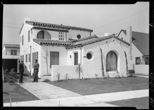 Leimert Park villas, Los Angeles, CA, 1930