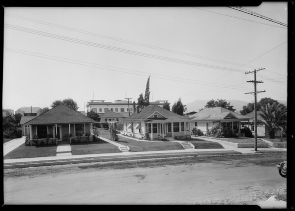 Secondary homes on same property, 1043-1047 Hyperion Avenue, Los Angeles, CA, 1925