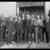 Arrivals of officials of Mormon Church, Southern California, 1927
