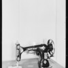 Sewing machine, Southern California, 1933