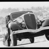 Hill climb in Glendale with Sam Palmer, Glendale, CA, 1934