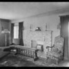 Home interior, 109 Fremont Place, Los Angeles, CA, 1925