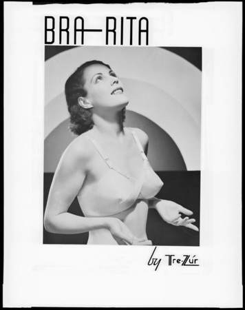 """Bra Rita"" by Tre-Zur, Southern California, 1936"