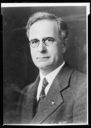 Portrait of Rex Clark, Southern California, 1928