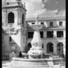Courtyard of Pasadena City Hall, Pasadena, CA, 1928