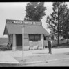 Real estate office in Van Nuys, Los Angeles, CA, 1926