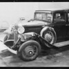 Chevrolet sedan, A.E. Youngs, assured, 8410 South Broadway, Los Angeles, CA, 1933