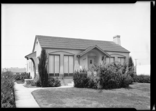 Duplex at 824 10th Street, Santa Monica, CA, 1925