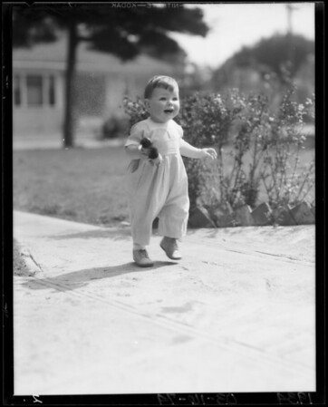The baby, Winifred Pollard, Southern California, 1934