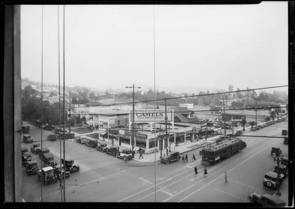 Bartlett Estates, northeast corner of Hollywood Boulevard & Vine Street, Los Angeles, CA, 1927