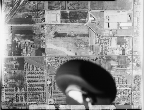 Aerial photographs of Anaheim, CA, [s.d.]