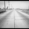 Intersection of Prairie Avenue and Compton Boulevard [Marine Avenue], Lawndale, CA, 1934