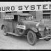 Mud on car, Duro Paint Co., Southern California, 1924