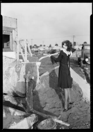 Wanda Fontaine at Leimert Park, Los Angeles, CA, 1927