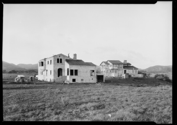 Brentwood Green & Highland Hills, Southern California, 1926