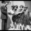 """If I Were Rich"" players (quintuplets), Southern California, 1927"