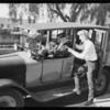 Yellow Cab, Southern California, 1925