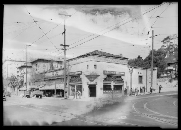 Los Angeles First National Bank, 6th Street and Alvarado Street branch, Los Angeles, CA, 1928