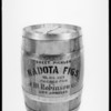 Kadota figs barrel, Southern California, 1927