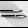 Fountain pen desk set & pen & pencil, Southern California, 1933