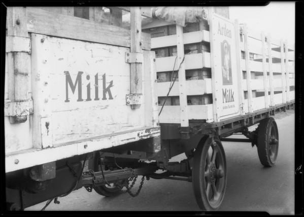 Western Dairies vs. Winslow, Los Angeles, CA, 1933