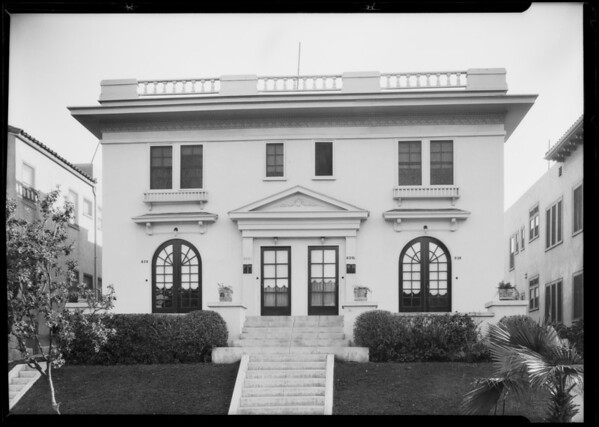 Apartment, 826 South Normandie Avenue, Los Angeles, CA, 1925