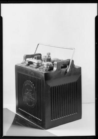 Storage battery, Southern California, 1925