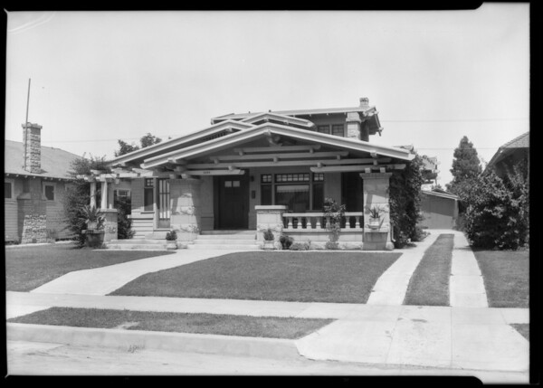 Small home, 2134 9th Street, Southern California, 1925