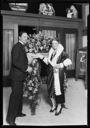 Arcade Theater opening, Los Angeles, CA, 1927