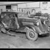 Studebaker, J.W. Dowdy assured, Southern California, 1933