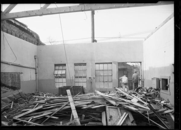 Building at 1045 Wall Street, Los Angeles, CA, 1934