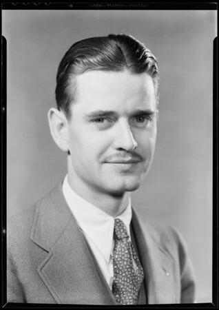 Mr. Mann, Southern California, 1932