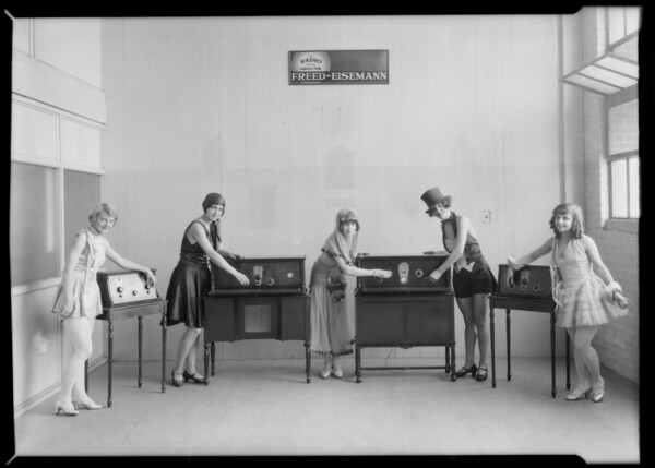 Pacific Coast Radios, Southern California, 1926