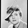 Studio Style hats, Mayers Company, Southern California, 1936