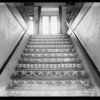 Stairway in Medical Arts building, 4757 Hollywood Boulevard, Los Angeles, CA, 1932