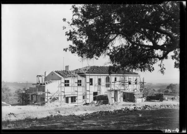 Home in Bel-Air, Los Angeles, CA, 1924