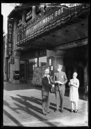 Will Morissey & cop, 6126 Hollywood Boulevard, Los Angeles, CA, 1927