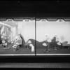 Straw hat window, J.W. Robinson, Southern California, 1927