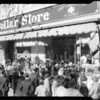 Clark's Dollar Store opening crowds, Los Angeles, CA,  1933