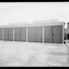 Private garage at 333 Sierra Bonita Avenue, Los Angeles, CA, 1933