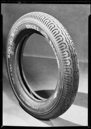 Tires, Railroad Warehouse, Southern California, 1931