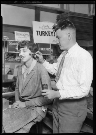 Turkey promotion, Southern California, 1927