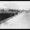 Intersection of Sunset Boulevard and North Roxbury Drive, Beverly Hills, CA, 1928