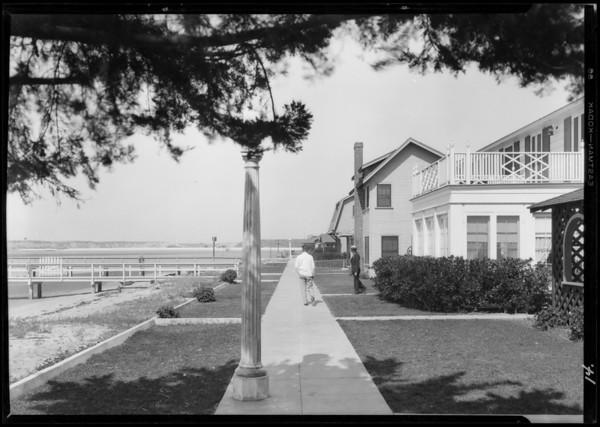 Homes in Balboa Island, Newport Beach, CA, 1928