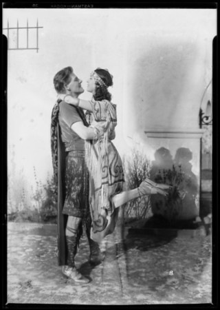 "Characters of ""Babylon"", 320 South Mission Drive, San Gabriel, CA, 1927"