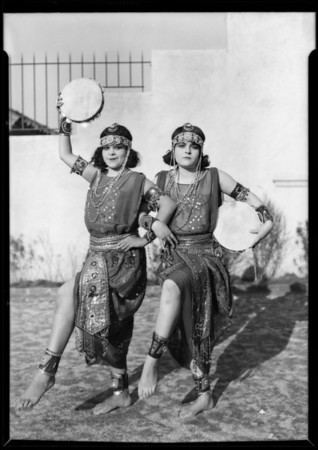 """Characters of """"Babylon"""", 320 South Mission Drive, San Gabriel, CA, 1927"""