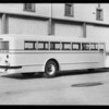 Huntington Beach High School bus, Southern California, 1934